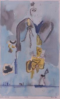 1958, Zeichnungen, Amsterdam,