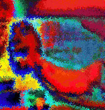 Digital, Abstrakt, Digitale kunst, Tv
