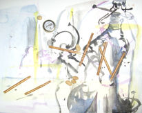 Wozu, Stichwort, Wischwaschi, Malerei