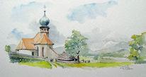 Steiermark, Kirche, Landschaft, St benedikten