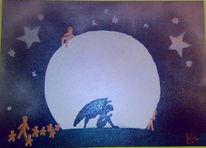 Engel, Malerei, Gargoyle, Surreal