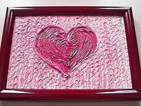 Malerei, Valentinstag, Herz, Surreal
