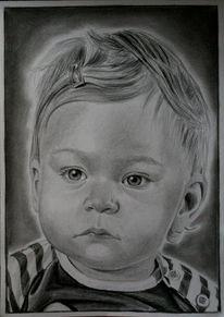 Ruschig, Zeichnungen, Portrait,