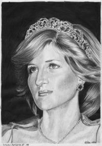 Dame, Ruschig, Portrait, Prinzessin