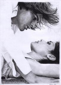 Ruschig, Portrait, Passion, Zeichnung