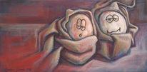 Schreck, Malerei
