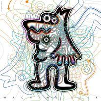 Tiere, Formen, Wesen, Grafik