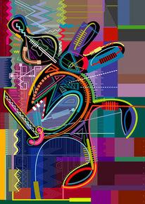 Figur, Fläche, Wahnsinn, 2008