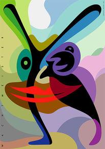 Farben, Tiere, Ohr, Weggefährte