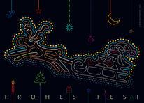 Licht, Weihnachtsmann, Symbol, Nikolaus