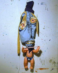 Stoffpuppe, Figural, Puppe, Plastik