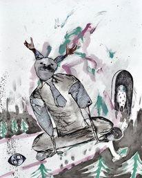 Behinderung, Malerei