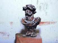 Skulptur, Hut, Felsen, Marilyn monroe