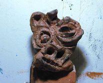 Skulptur, Figural, Plastik, Schwein