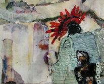 Mexiko, Malerei, Quetzalcoatl, Schlange