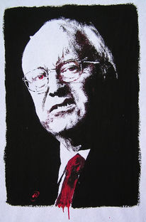 Cheney, Dick, Malerei, Figural