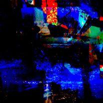 Knistern, Munkeln, Es dunkelt, Digitale kunst