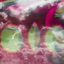 Himmel, Wohnung, Wolken, Fenster