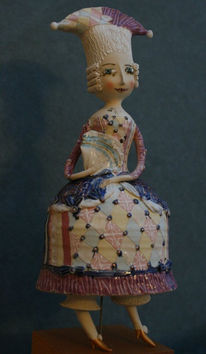 Puppe, Skulptur, Keramik, Kunsthandwerk
