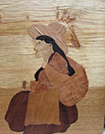 Junge, Inka, Holzbildhauerei, Mädchen
