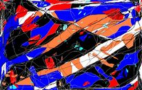 Abstrakte kunst, Digital, Abstrakt, Digitale kunst