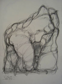 Abstrakt, Abstrakte kunst, Zeichnungen,