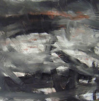 Schwarz weiß, Weiß, Abstrakt, Abstrakte malerei