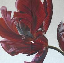Tulpen, Malerei, Stillleben,