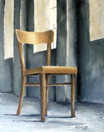 Malerei, Stuhl