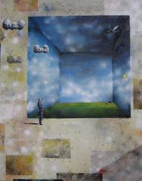 Landschaft, Malerei, Architektur