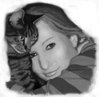 Tiere, Katze, Freundschaft, Liebe