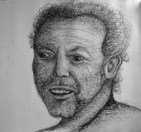 Zeichnung, Lehrer, Portrait, Wettbewerb