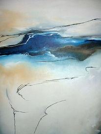 Landschaft, Abstrakt, Malerei,