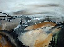 Landschaft, Abstrakt, Malerei