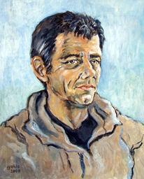 Portrait, Porträtmalerei, Malerei