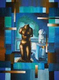 Plastik, Abstrakt, Rodin, Malerei