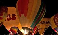Heißluftballon, Glühen, Ballon, Fotografie