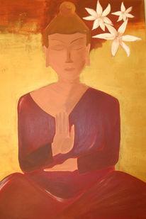 Buddhismus, Figural, Meditation, Buddha