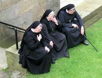 Nonne, Schnappschuss, Menschen, Fotografie