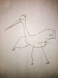 Figural, Tiere, Skizze, Zeichnungen