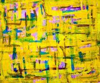 Musik, Abstrakt, Malerei, 2015