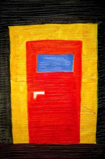 Abstrakt, Malerei, Eingang
