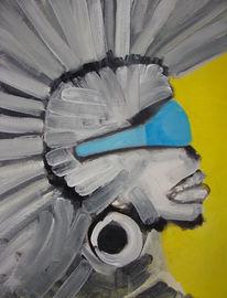 Malerei, Politik, Menschen, 2008