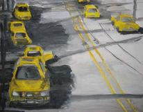 Malerei, Skizze, Usa, 2008
