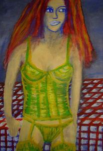 Malerei, Menschen, Surreal, 2008