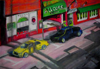 Skizze, Malerei, Usa, 2008