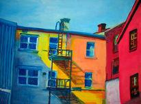 Malerei, Skizze, 2008