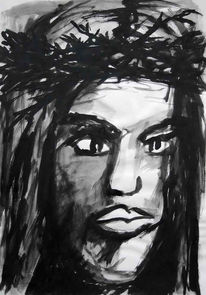 Figural, Malerei, Jesus
