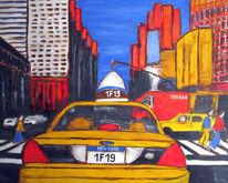 Malerei, Skizze, New york city, York