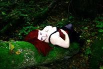 Mädchen, Wald, Menschen, Fotografie